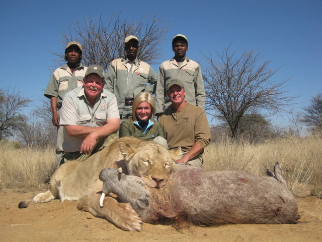 Stop any kind of Safari hunting in Africa