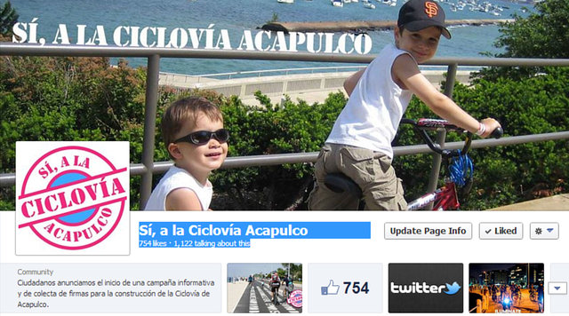 Si, a la Ciclovia de Acapulco!