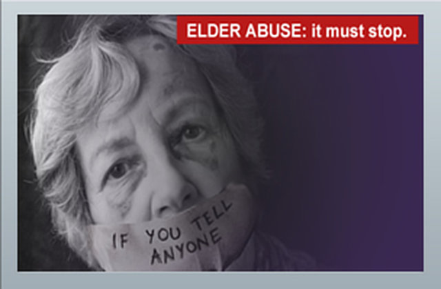 Stop the abuse of our elderly