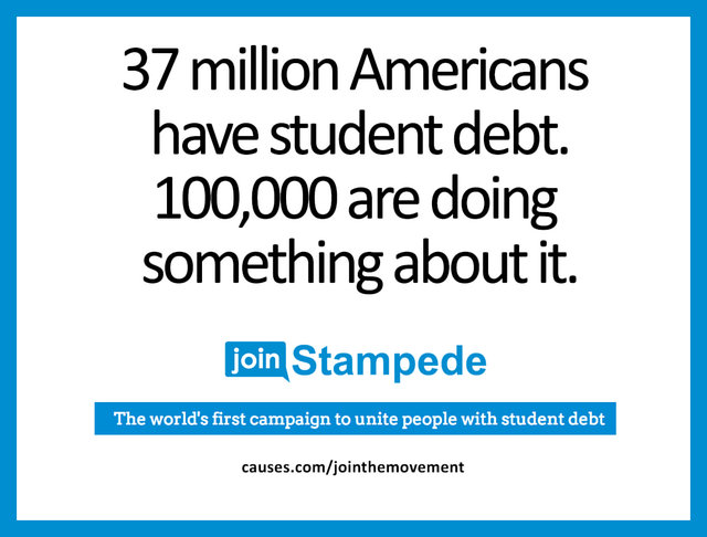 reduce student debt through crowd-influence