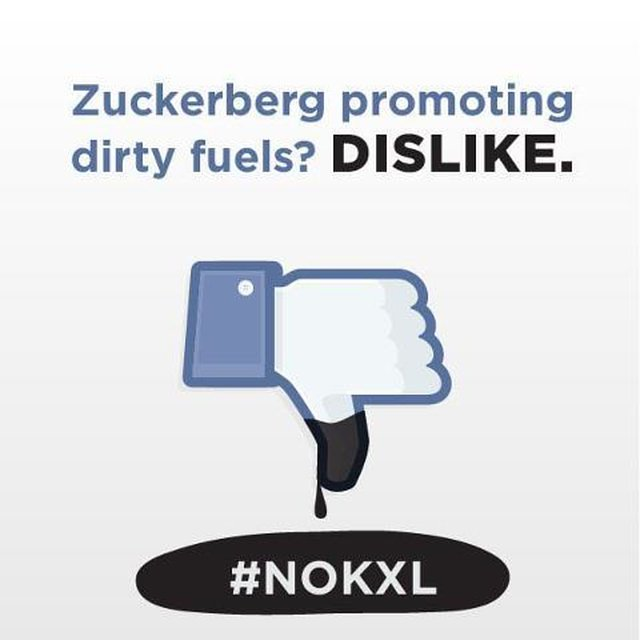 Zuckerberg Promoting Dirty Fuels? Dislike!