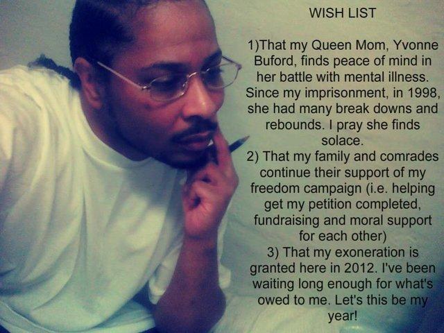 overturn the false conviction of Leon Benson
