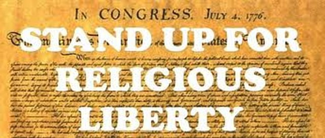 Stand Up for Religious Freedom--With Prayer & Penance to STOP HHS Mandate!