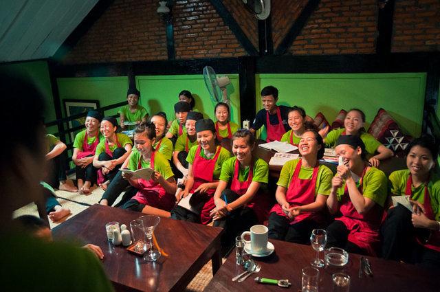Jennifer Pollock Runs in Luang Prabang for Lao Street Kids