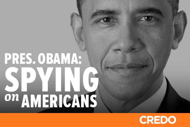 Tell President Obama: Justify your indiscriminate spying on Americans‬