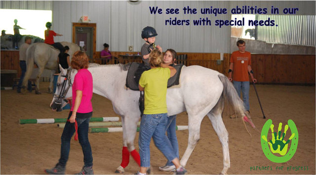"""Raise The Hay"" For Our Therapeutic Riders and Their Horses"