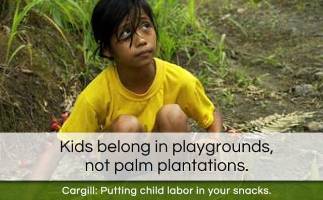 Tell Cargill we won't stand for child and slave labor in our food