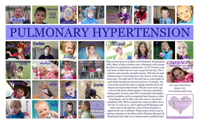 Find A Cure for Pulmonary Hypertension