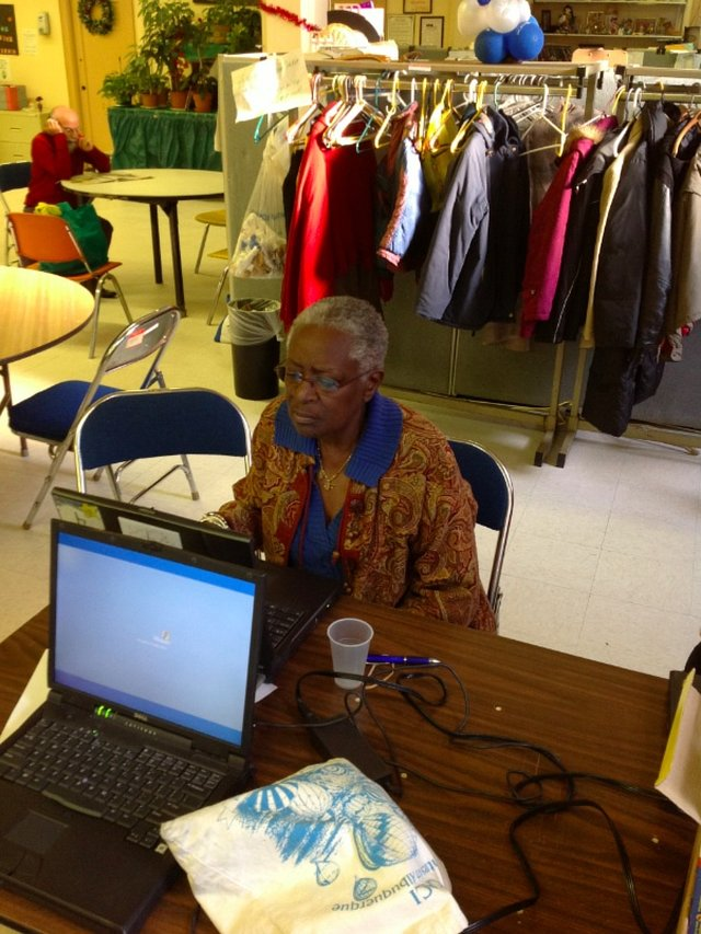 Telikin Computer lab for Park Slope Seniors