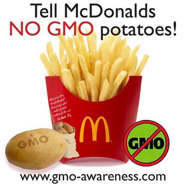 Stop McDonald's Toxic Taters!