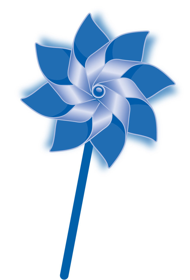turn Facebook into a virtual pinwheel garden