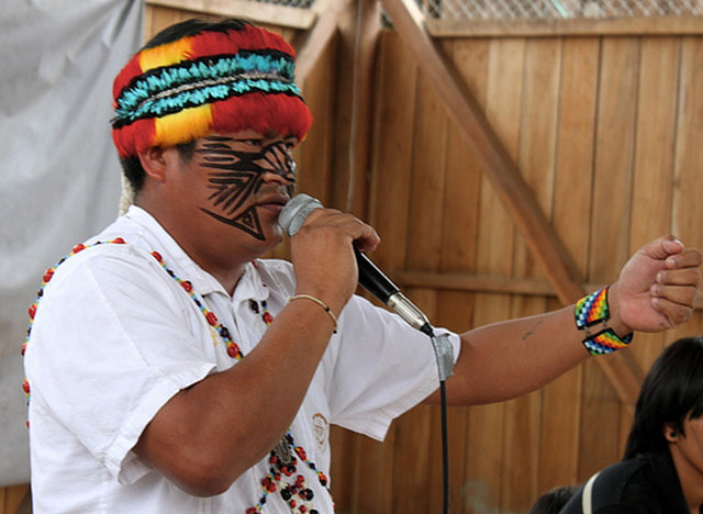 Bring Ecuadorian Indigenous leaders to Houston's Oil Expo