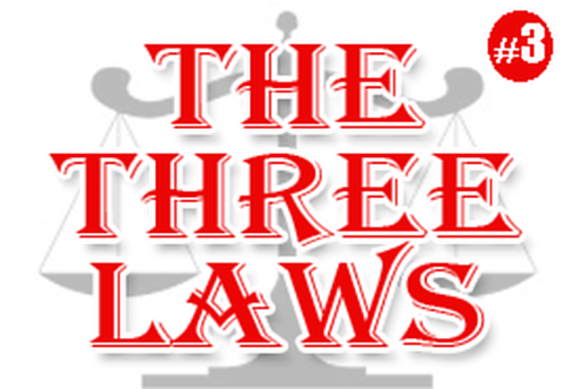 Final installment of The Three Laws just published