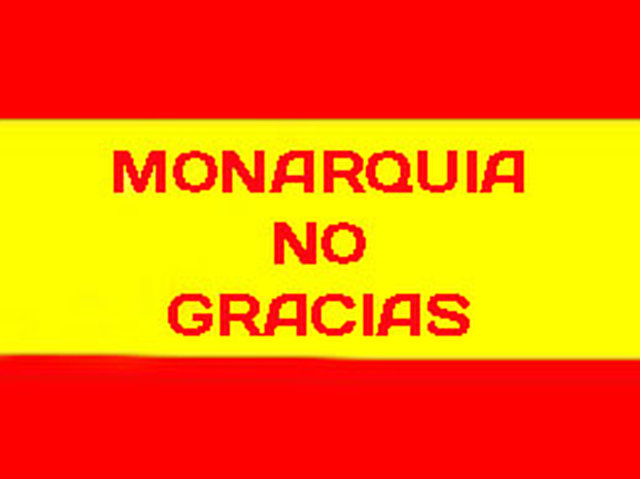 remove the Spanish monarchy