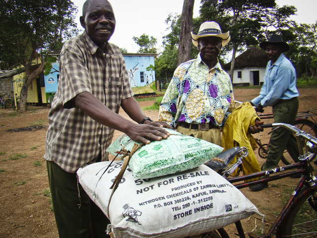 Provide a Microloan to a Zambian Refugee