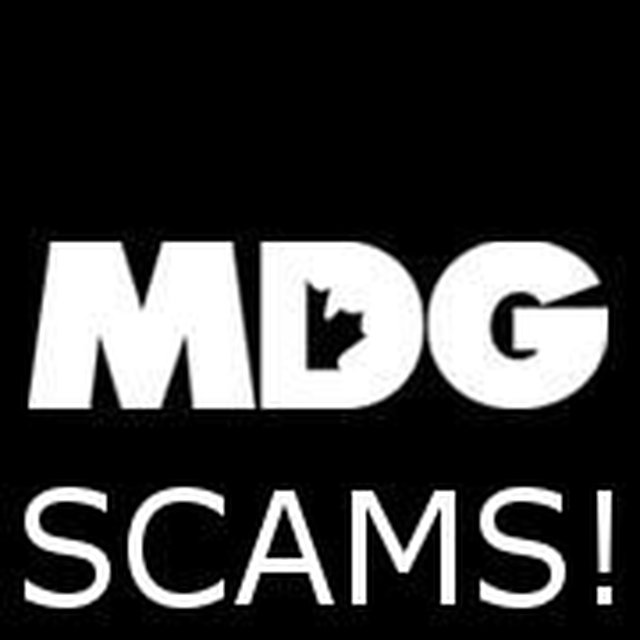 Stop the MDG Scams in Canada
