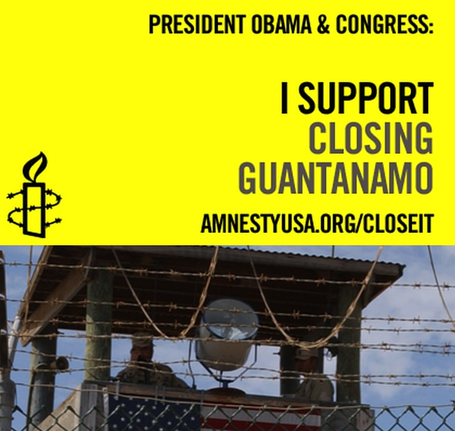 close Guantanamo now!