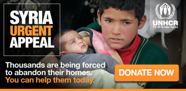 support the UN Refugee Agency