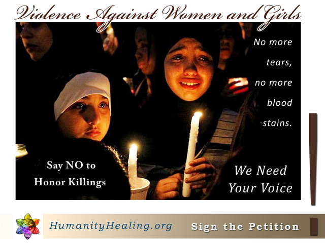 Say NO to Honor Killings in Pakistan