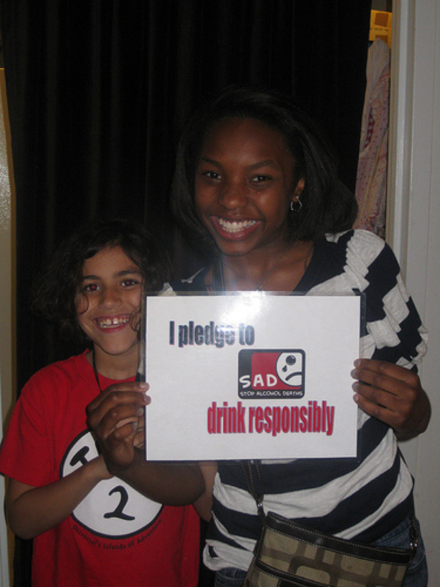 Stop Alcohol Deaths (S.A.D.)