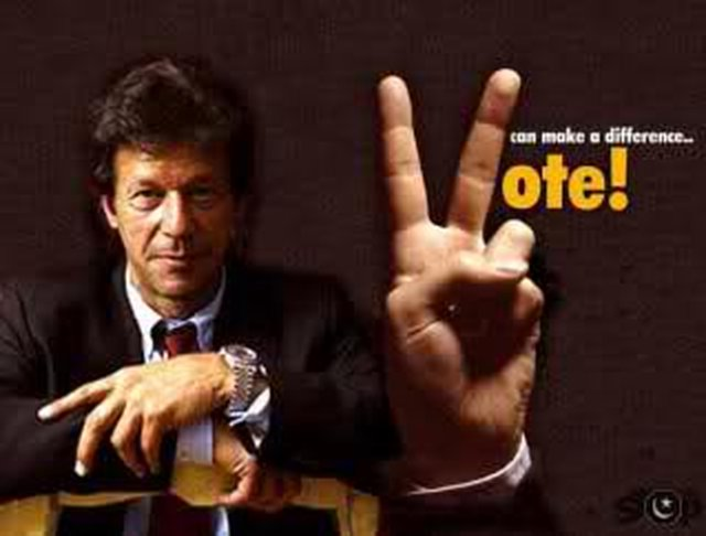 I promise to vote PTI in Election 2013