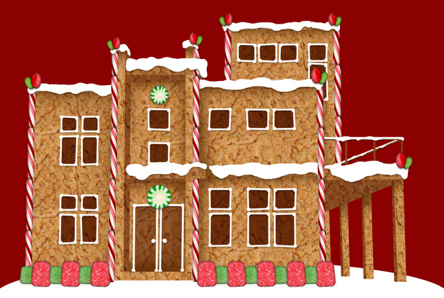 Create a Village 1,000 Gingerbread Houses Strong!