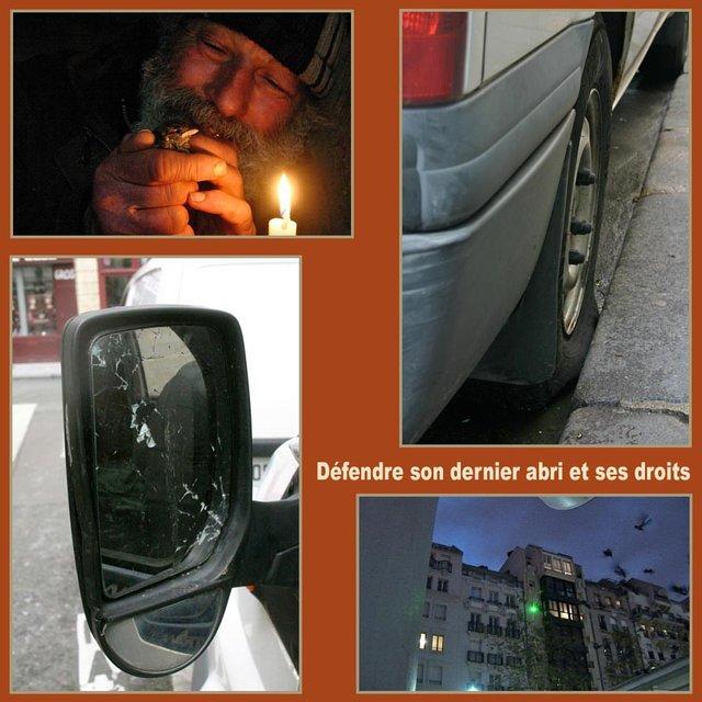 Laissez Giuseppe Belvedere stationner dans son camion-abri