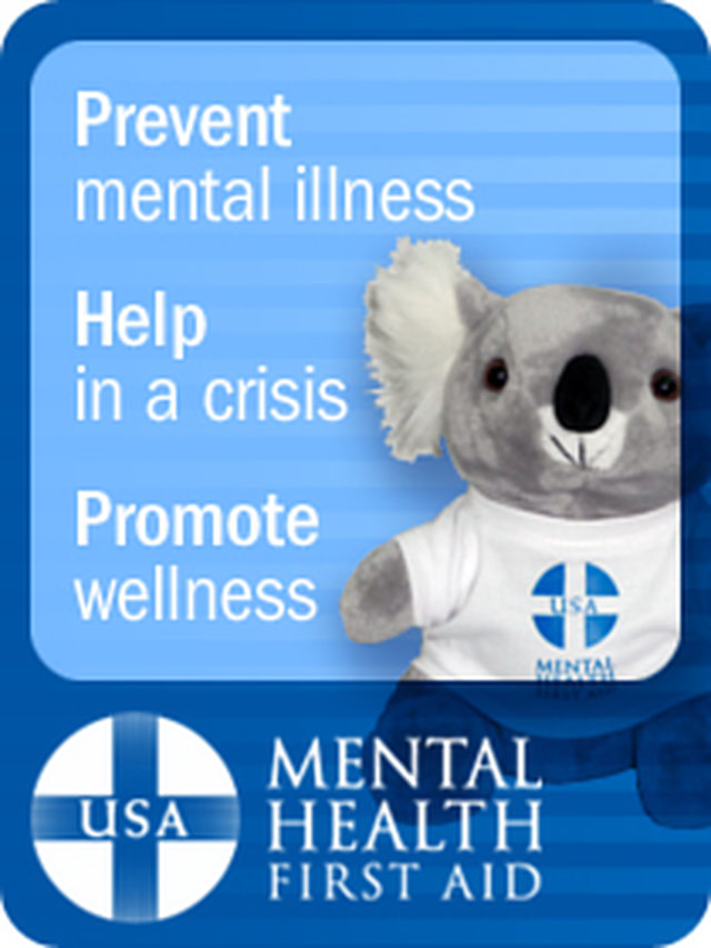 Support the MENTAL HEALTH FIRST AID Act