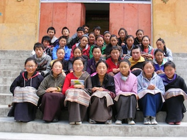 Youdon's Birthday Wish for children inside Tibet