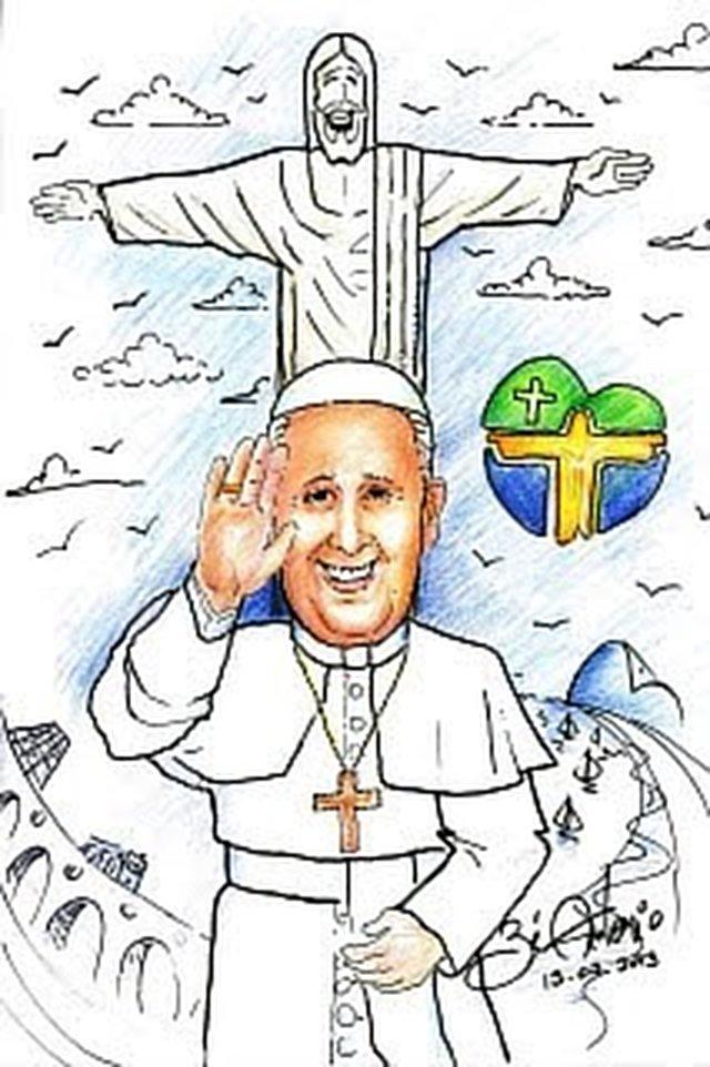Visita do Papa e os aposentados da Varig