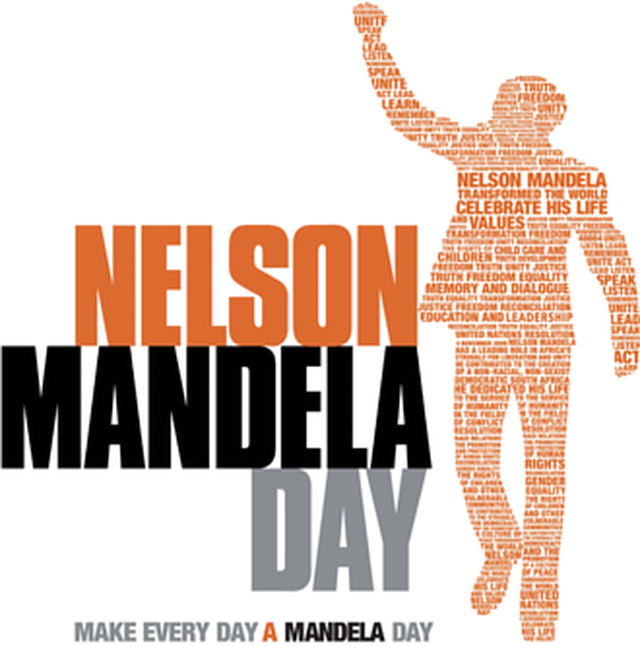 Change the World - Join Mandela Day July 18