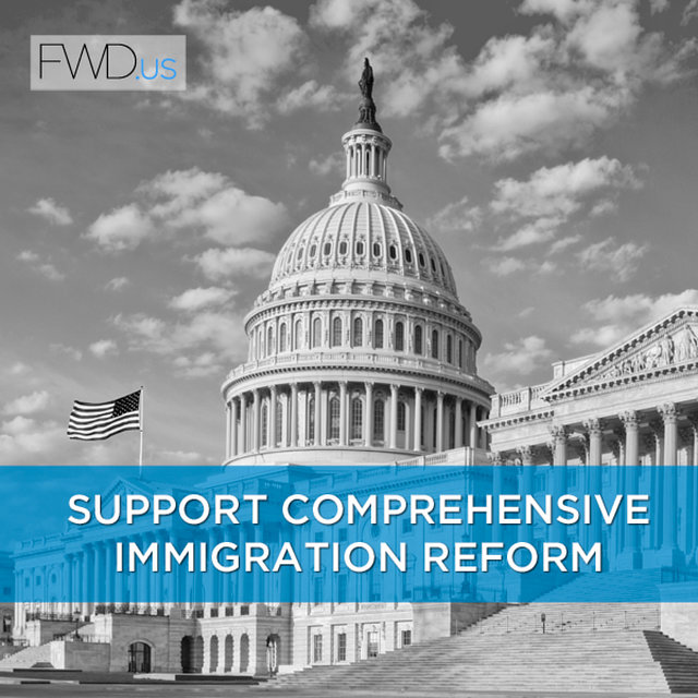 support passing comprehensive immigration reform.