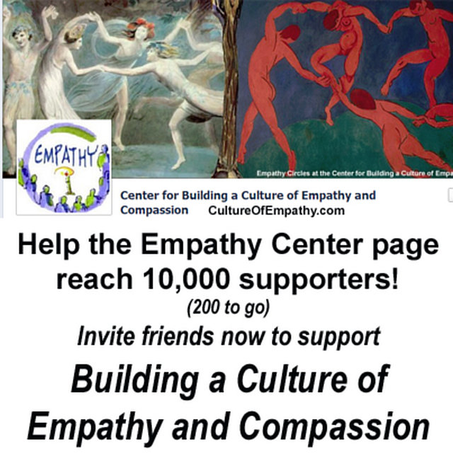 Support Empathy by Joining the Facebook Empathy Center Page