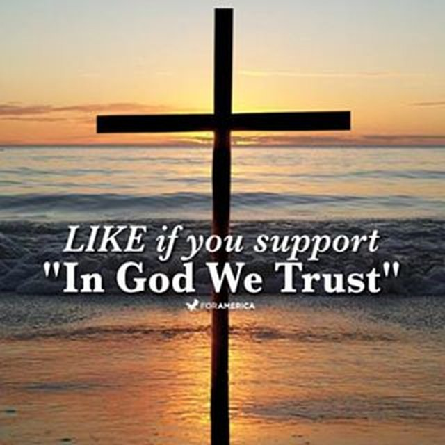 "support ""In God We Trust"""