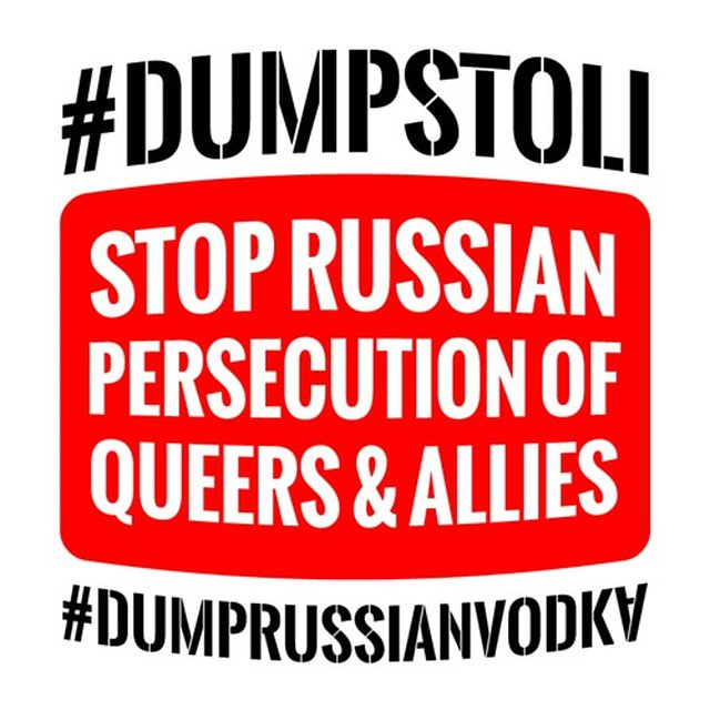 Boycott Russian Vodka!
