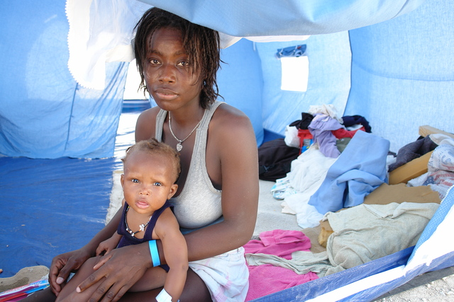 Help rescue and rebuild lives in Haiti and around the world