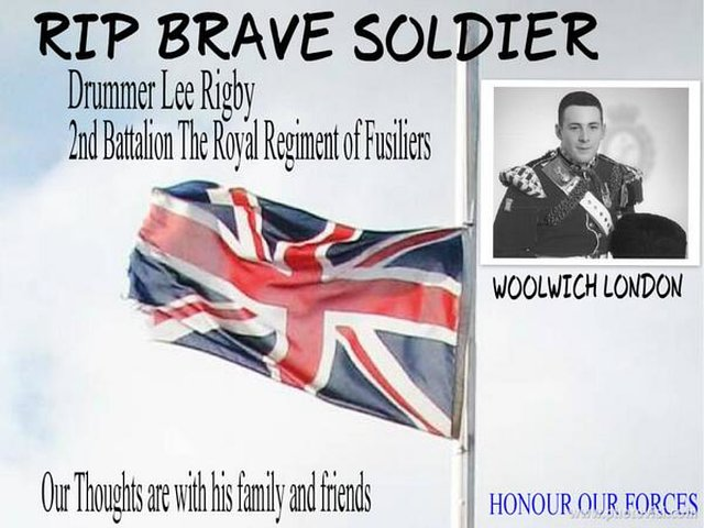 Convict Drummer Lee Rigby's killers of Treason
