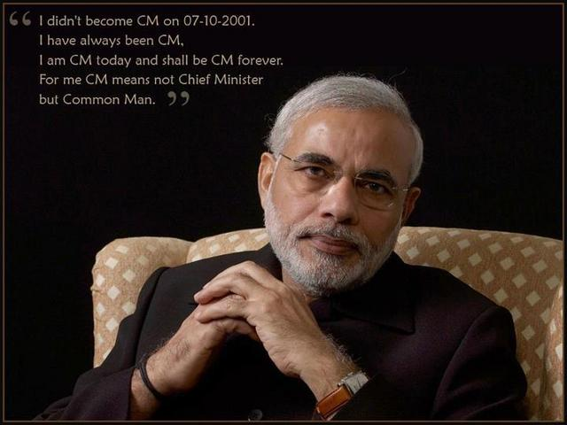 Special hearty congratulations and thanks to Mr.Narendra Modi.