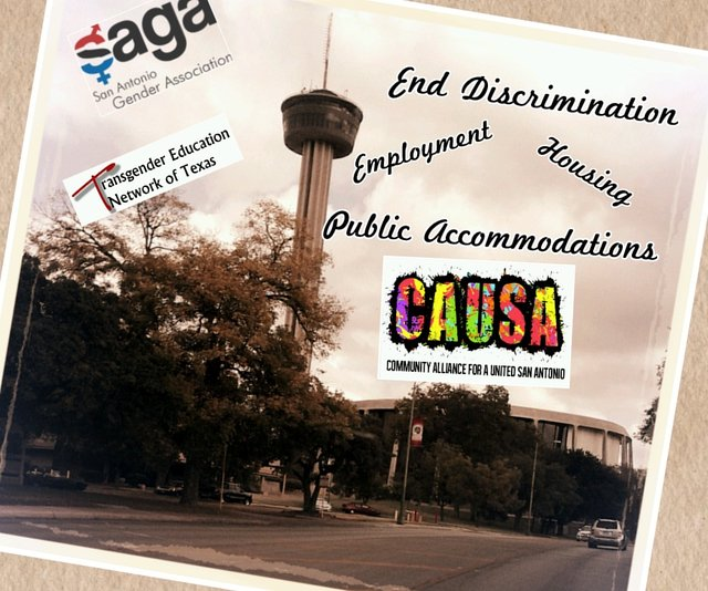 Support Equality in San Antonio - Human Rights Ordinance 2013