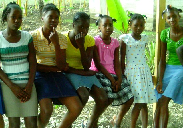 help girls go back to school in Haiti