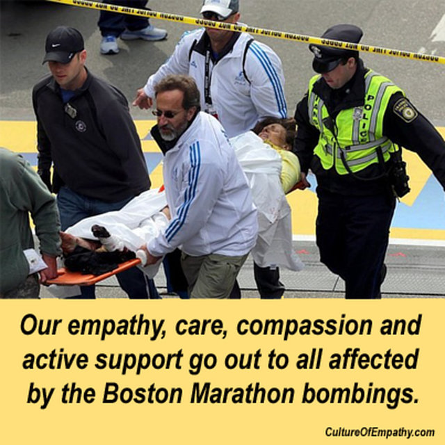 support those affected by Boston Marathon Bombings