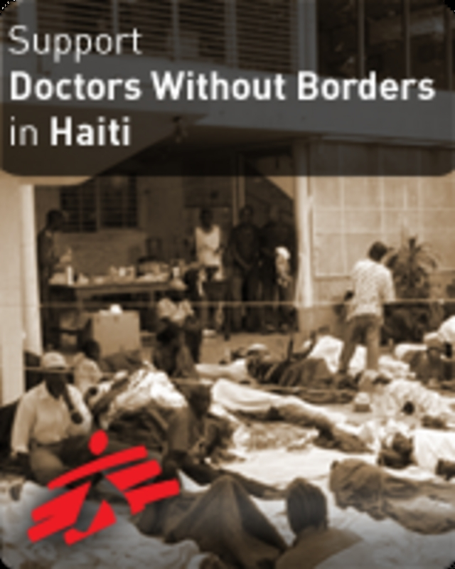 Haiti Earthquake Response - Doctors Without Borders