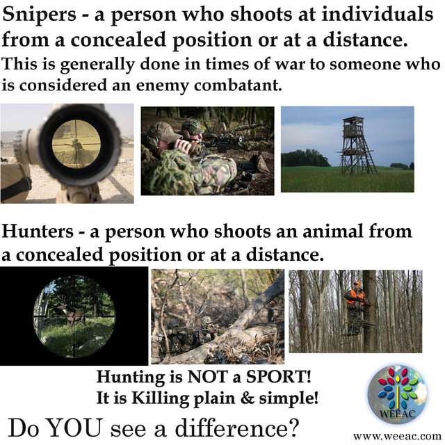 ACTION ALERT:  Ban Sport Hunting