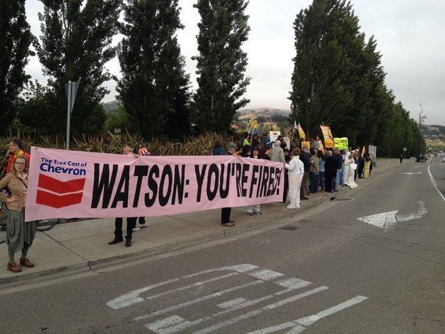 Help Ecuadorians deliver pink slip to Chevron's CEO