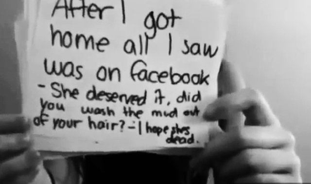 Support the End of Cyberbullying on Facebook