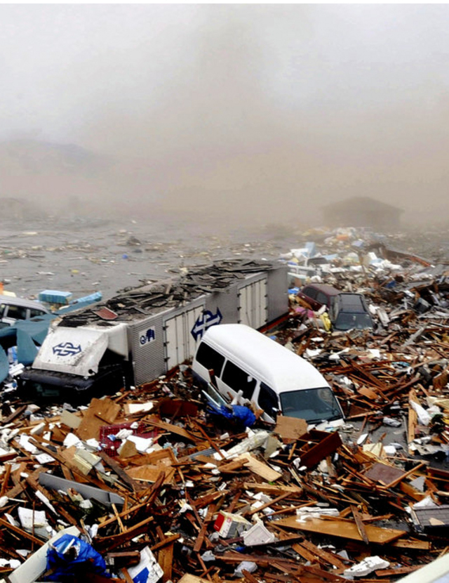 UCSF Supports the Oxfam's Japan Earthquake and Tsunami Relief