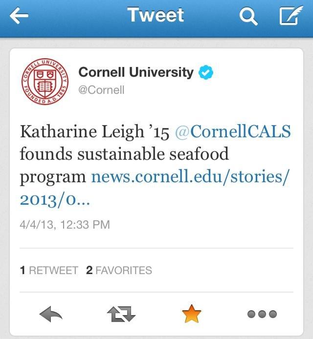Sustainable Seafood Challenge!