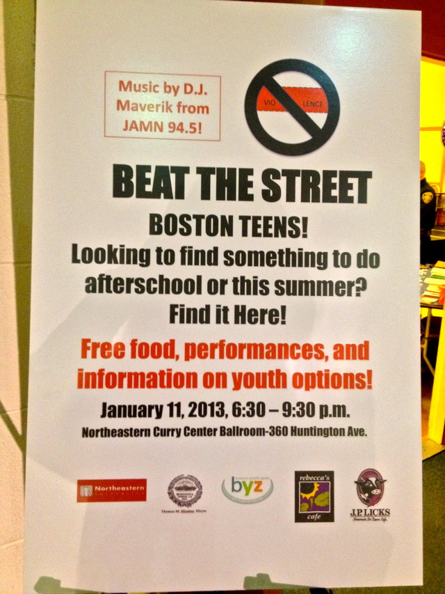 Fund Community Events Planned  by Boston At -Risk Students