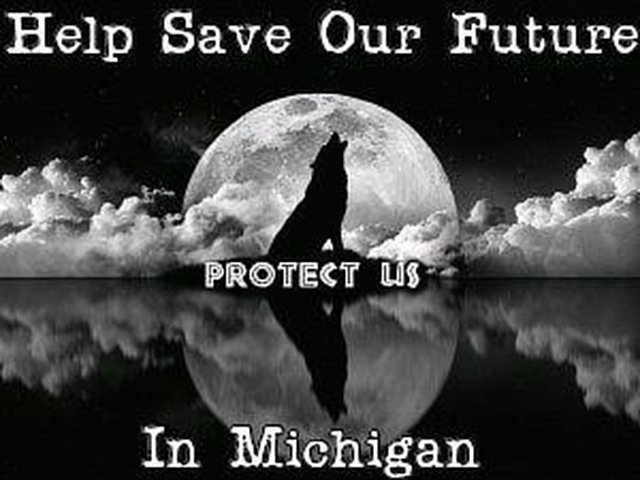 ask Michigan Governor to stop the wolf hunt