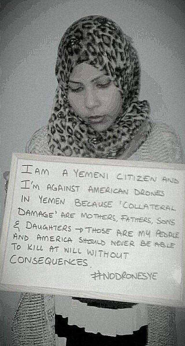 End U.S. drone strikes in Yemen & repatriate Yemenis from Guantanamo!